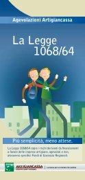 La Legge 1068/64 - Artigiancassa