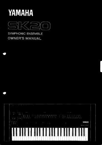 SK20 - Yamaha