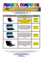 offerte - Morena Computer