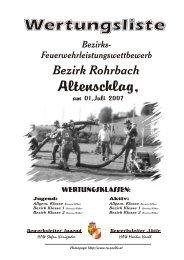 01.07.2007 in Altenschlag - Feuerwehr St.Martin