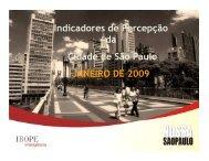 2ª edição da Pesquisa - Rede Nossa São Paulo