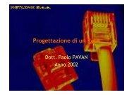 Manuale Progettazione Rete - Paolo PAVAN