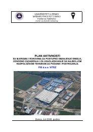 FIS-Plan aktivnosti.pdf - Federalno ministarstvo okoliša i turizma