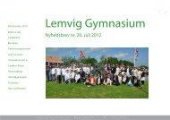 Jonas Kielsholm - Lemvig Gymnasium