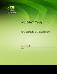NVIDIA CUDA Programming Guide
