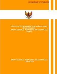 Peraturan Kepala BNPB No.07 Tahun 2009