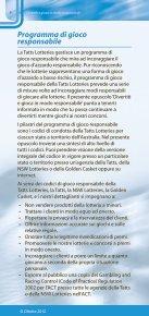 DIVERTITI E GIOCA IN MODO RESPONSABILE - Page 4