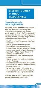 DIVERTITI E GIOCA IN MODO RESPONSABILE - Page 5