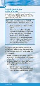 DIVERTITI E GIOCA IN MODO RESPONSABILE - Page 6