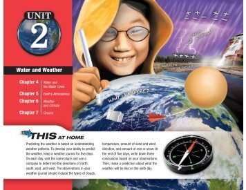 Unit 2 Water and Weather - Spokane Public Schools