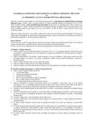 navodilo za izpolnjevanje zahtevka za hišno carinjenje pri uvozu in ...