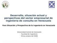 Desarrollo, Situación actual y Perspectiva del Sector Empresarial de ...