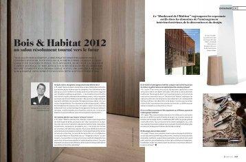Bois & Habitat 2012