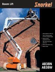 Boom Lift AB38N AB38W