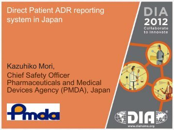 Direct Patient ADR reporting system in Japan (PDF