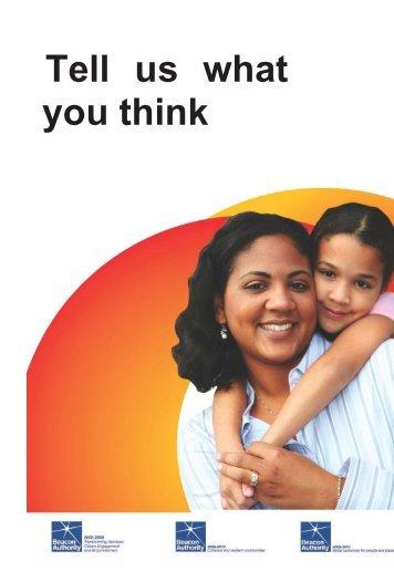 Complaints leaflet - Chorley Borough Council