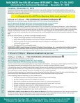 MAXIMIZE the VALUE of your INTRANET - Nov. 27-30, 2012 - Page 4