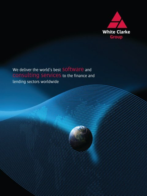Download the WCG Corporate Brochure here - White Clarke Group