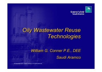 Oily Wastewater Reuse Technologies