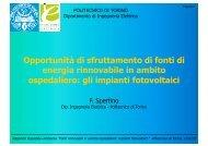gli impianti fotovoltaici - Studio Fasano