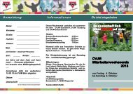 Einladung CVJM Mitarbeiterwochenende 2013
