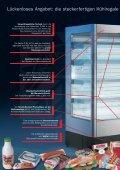 Das Prospekt zum Carrier Wandkühlregal Optimer - Seite 2