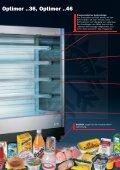 Das Prospekt zum Carrier Wandkühlregal Optimer - Seite 3