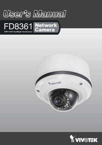 Vivotek FD8361 User Manual - Use-IP