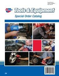 Tools & Equipment Special Order Catalog - CARQUEST Auto Parts