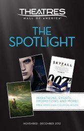SPOTLIGHT - Theatres at Mall of America