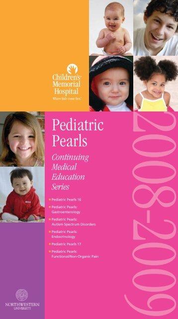 Pediatric Pearls