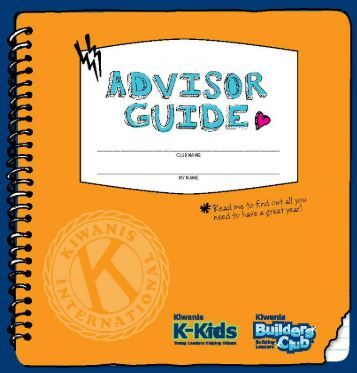 2012-13 BC Advisor Guide - Builders Club
