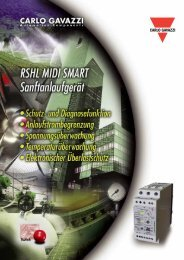 rshl smart - Carlo Gavazzi AG