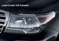 Land Cruiser V8 Zubehör - Toyota