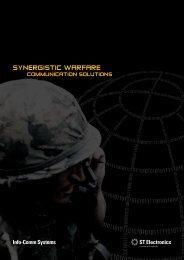 Synergistic Warfare Communication Solutions - ST Electronics