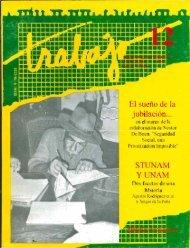 Revista Trabajo No. 12. 1996. El sueño de la ... - UAM Iztapalapa