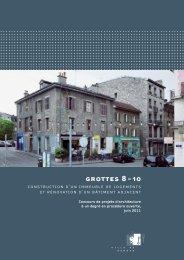 Grottes 8-10: nouveaux logements et rénovation - Ville de Genève