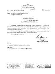 İl Mili Eğitim Müdürlüğü Yazısı - Mersin İl Milli Eğitim Müdürlüğü