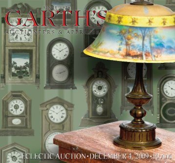 Garth's DEC_brochure_Layout 1 - Garth's Auctions, Inc.