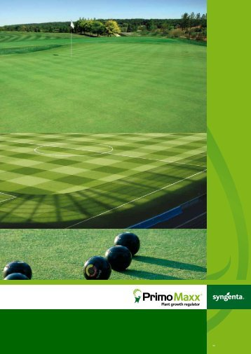 download the Primo Maxx brochure, including details ... - GreenCast