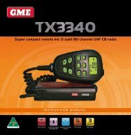 GmE tX3340