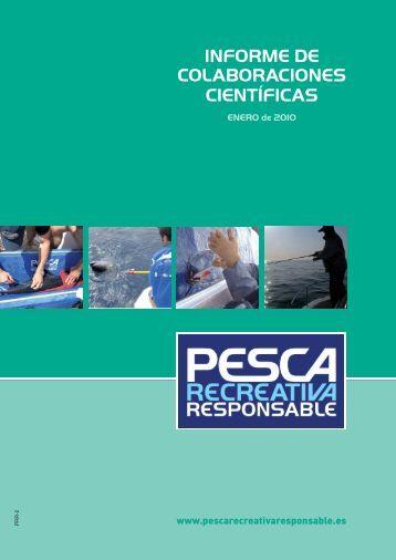 INFORME CIENTIFICO.indd - Confederación Española de Pesca ...