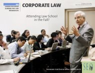 CORPORATE LAW - Sponsors for Educational Opportunity