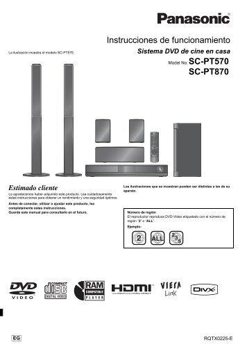 Panasonic SC-BTT270PH Blu-ray Player Driver for Windows Mac