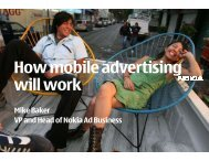 How mobile advertising will work