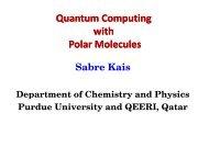 Quantum Computing with Polar Molecules