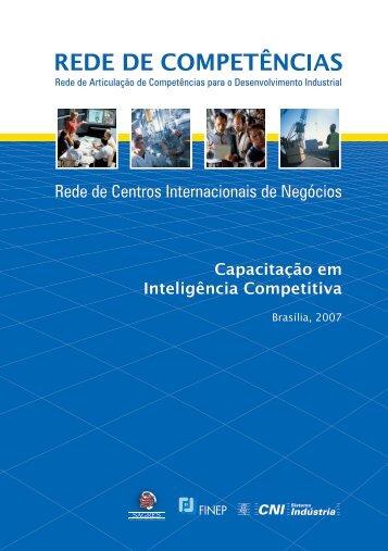Capacitação em Inteligência Competitiva - CNI