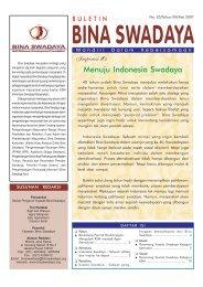 Buletin Bina Swadaya Edisi Mei 2007