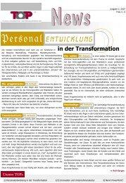 Innovation& Unternehmenskultur - TOP Trainings-, Organisations