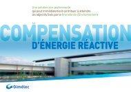 Compensation d'énergie réactive - Schneider Electric